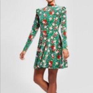 Not So Ugly Christmas Skater Santa Dress NWT